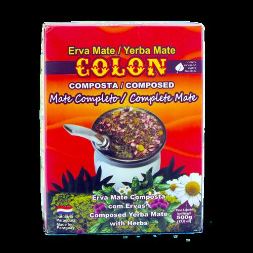 Colon Compuesta Mate Completo 0,5kg | Yerba Mate